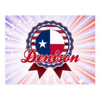 Denison TX Tarjetas Postales