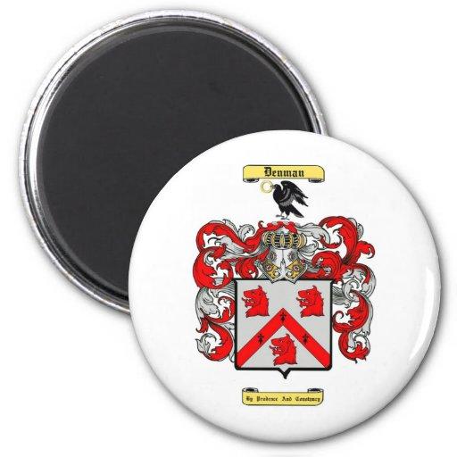 denman 2 inch round magnet