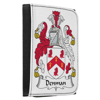 Denman Family Crest Leather Wallets