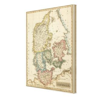 Denmark 10 canvas print
