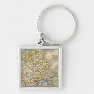 Denmark 10 keychain