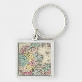 Denmark 11 keychain