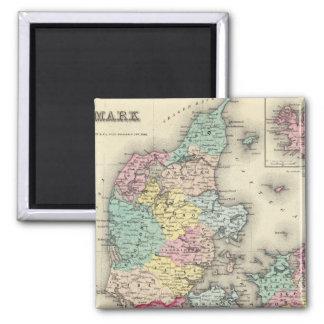 Denmark 11 magnet