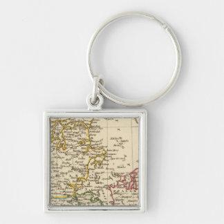 Denmark 13 keychain