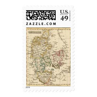 Denmark 13 postage stamp