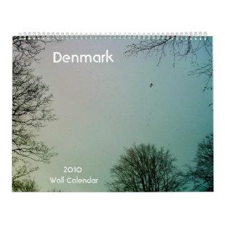 Denmark 2010 Wall Calendar