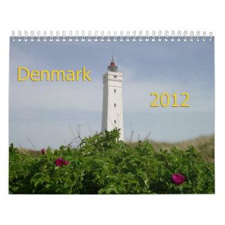 Denmark 2012 Calendar