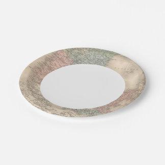 Denmark 2 2 paper plate