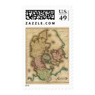 Denmark 2 postage stamp