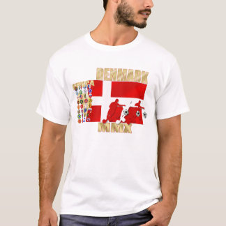 Denmark 32 country flag Africa 2010 gifts T-Shirt