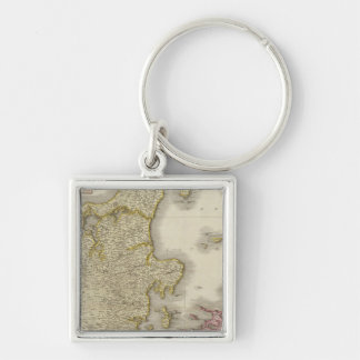 Denmark 3 keychain