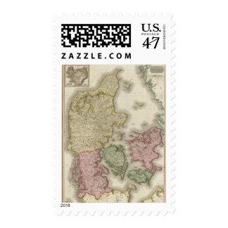 Denmark 3 postage stamp