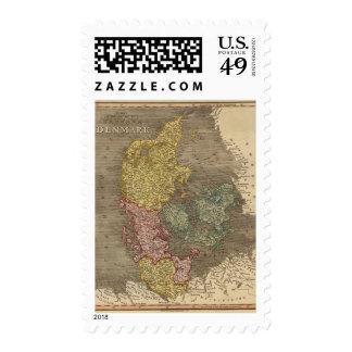 Denmark 4 stamp