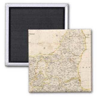 Denmark 6 2 inch square magnet