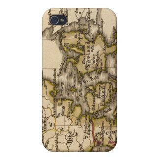 Denmark and Iceland 2 Case For iPhone 4