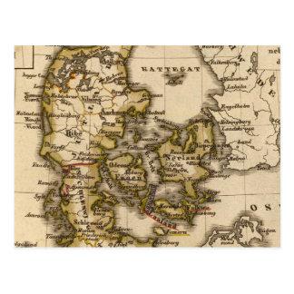 Denmark and Iceland 2 Postcard