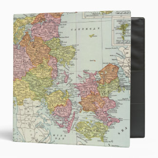 Denmark and Iceland 3 Ring Binder