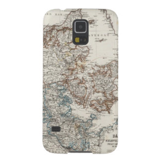 Denmark Atlas Map with 5 inset maps Galaxy S5 Case