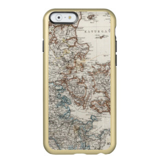 Denmark Atlas Map with 5 inset maps Incipio Feather® Shine iPhone 6 Case