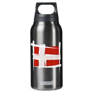 Denmark Brush Flag Insulated Water Bottle