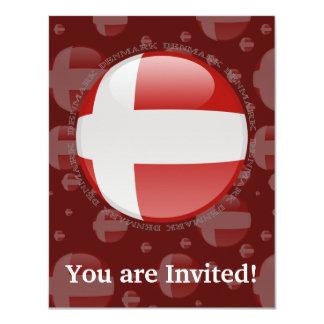 Denmark Bubble Flag Card