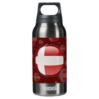 Denmark Bubble Flag Insulated Water Bottle
