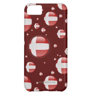 Denmark Bubble Flag iPhone 5C Cover