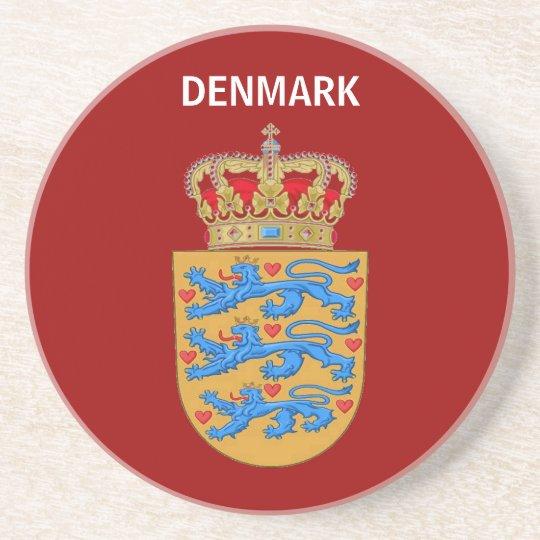 Denmark Coaster! Sandstone Coaster