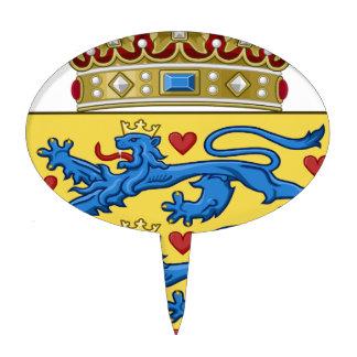 Denmark Coat of Arms Cake Picks