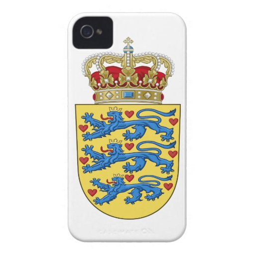Denmark Coat of Arms iPhone 4 Cover