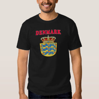 Denmark Coat Of Arms Designs Shirt