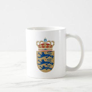 Denmark Coat of Arms detail Mugs