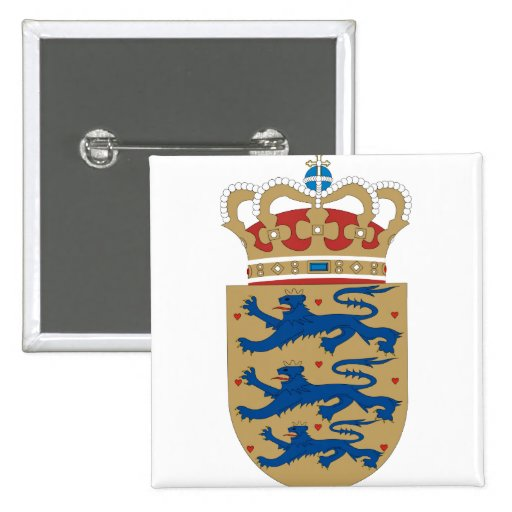 Denmark Coat of Arms detail Pin