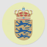 Denmark Coat of Arms detail Stickers