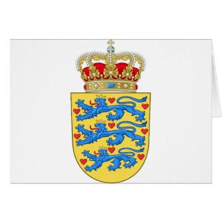 Denmark Coat of arms DK Card