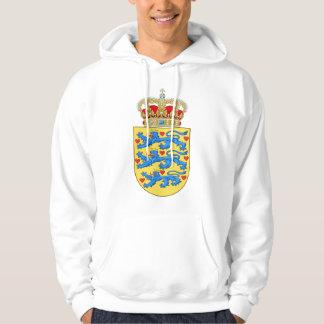 Denmark Coat of arms DK Hoodie