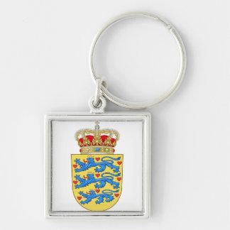 Denmark Coat of arms DK Keychain