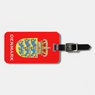 Denmark* Coat of Arms Luggage Tage Luggage Tag