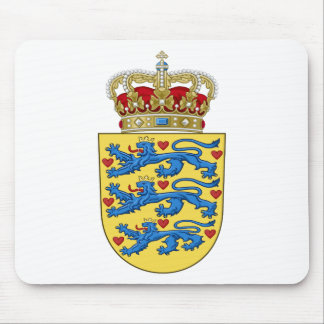 Denmark Coat of Arms Mouse Pad
