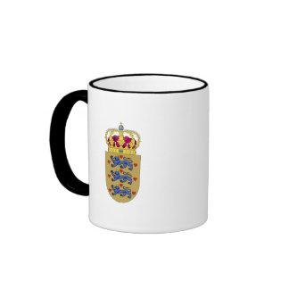 Denmark- Coat of Arms Mugs