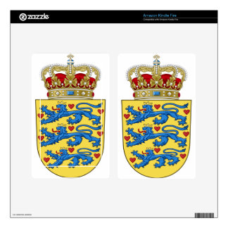 Denmark Coat of Arms Kindle Fire Decals