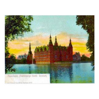 Denmark, Copenhagen Friedfricsberg Castle 1912 Post Cards