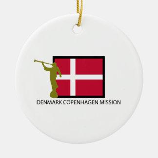 DENMARK COPENHAGEN MISSION LDS CTR CERAMIC ORNAMENT