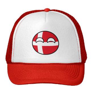 Denmark Countryball Trucker Hat