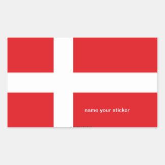 Denmark danish flag sticker