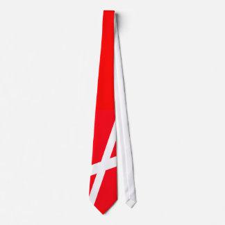 Denmark - De Rød-Hvide Football Neck Tie