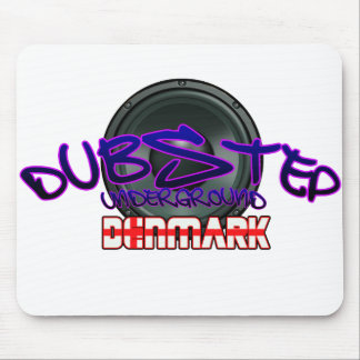 Denmark DUBSTEP Dub DnB reggae Electro Rave Mouse Pad