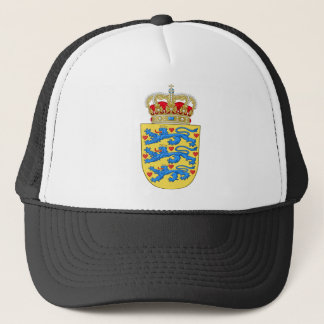 denmark emblem trucker hat
