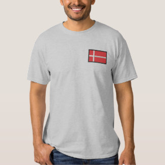Denmark Embroidered T-Shirt