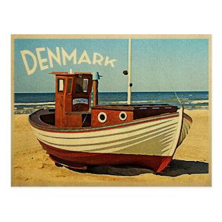 Denmark Fishing Boat Post Cards